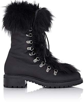 Barneys New York Women's Fur-Trimmed M6 Boots