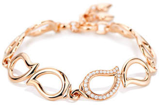Tamara Comolli Signature 18K Rose Gold Diamond Bracelet