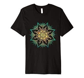 Women's Mandala Flower T-shirt