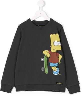 Finger In The Nose Simpson print sweatshirt