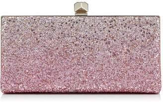 Jimmy Choo Celeste Ombre Glitter Clutch