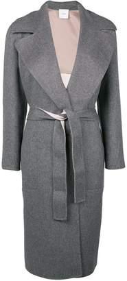 Agnona cashmere belted coat