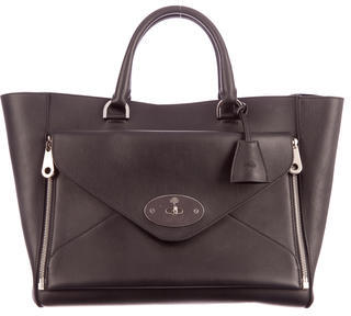 Mulberry Leather Willow Tote $985 thestylecure.com