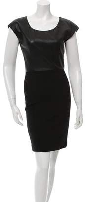 Rachel Zoe Paneled Sheath Dress
