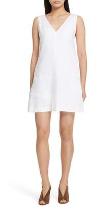 Theory Linen Shift Dress