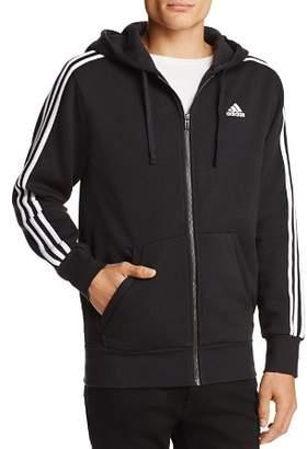adidas Essentials 3-Stripe Zip Hooded Sweatshirt