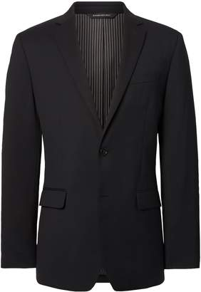 Banana Republic Slim Solid Italian Wool Suit Jacket