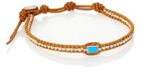 Chan Luu Turquoise& Silver Bracelet