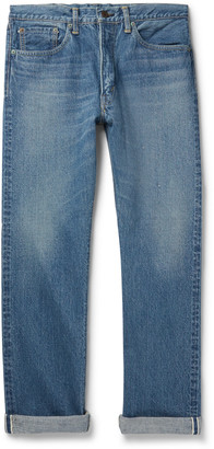 orSlow Original 107 Slim-Fit Selvedge Denim Jeans - Men - Blue