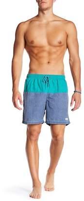 Trunks San O Colorblock Swim Trunk $58 thestylecure.com