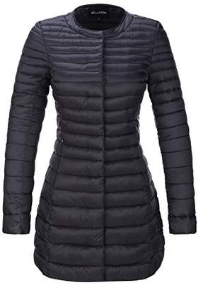 Bellivera Women's Puffer Jacket for Spring and Fall