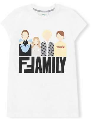 Fendi Family print T-shirt