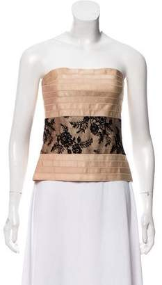 Alessandro Dell'Acqua Lace Trim Bandage Top