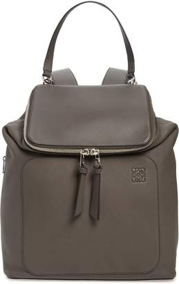 Loewe Goya Plaid Calfskin Leather Backpack