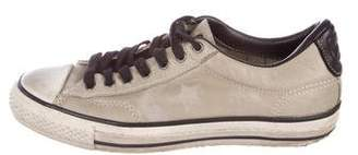Converse Leather Low-Top Sneakers