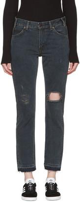 Levi's Grey 505C Jeans $115 thestylecure.com