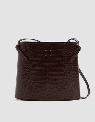 Sybil Faux Croc Bag