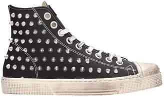 Gienchi Black Rubber Jean Michel Sneakers