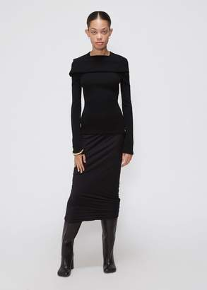 Rick Owens Lilies Rouched Skirt