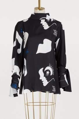 Jour/Né Silk Poesie blouse