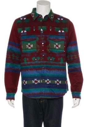 Valentino Woven Textured Workshirt