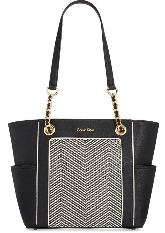 Calvin KleinCalvin Klein Saffiano Leather Tote