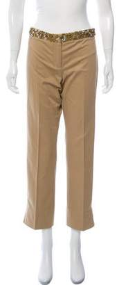 Kaufman Franco KAUFMANFRANCO Mid-Rise Straight-Leg Pants w/ Tags