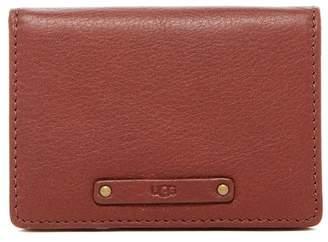 UGG Jenna Leather ID Card Case