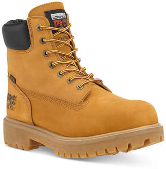 Timberland Men Direct Attach Safety Toe Waterproof Work Boots Men Shoes