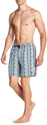 Trunks BEACH BROS Wavy Stripe Printed