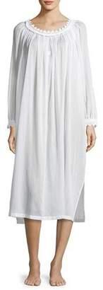 Celestine Danielle Long-Sleeve Nightgown