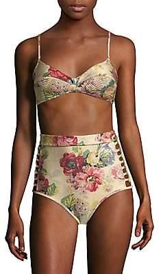 Zimmermann Women's Melody Bullet Bikini Top