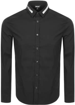 Just Cavalli Cavalli Class Long Sleeved Shirt Black