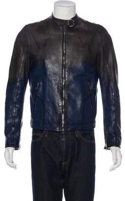 Gucci Ombré Leather Jacket