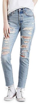 Levi's 501 Skinny Thrashed Jeans