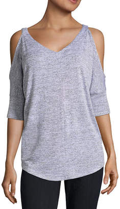 A.N.A Elbow Sleeve Cold Shoulder