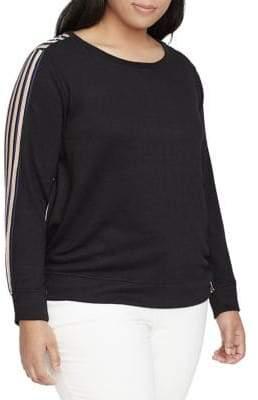 William Rast Plus Tye Sweatshirt