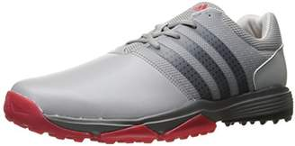 adidas Men's 360 Traxion Ltonix/Cblack Golf Shoe,10.5 M US