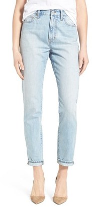 Women's Madewell 'Perfect Summer' High Rise Ankle Jeans $115 thestylecure.com