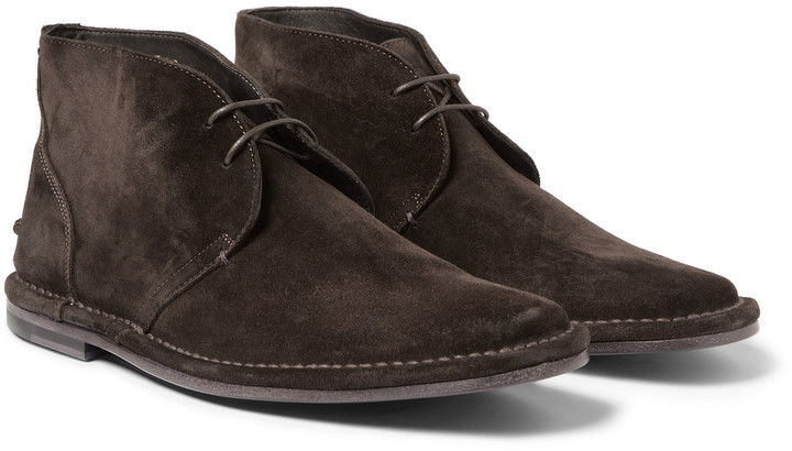 Paul Smith Parka Suede Desert Boots