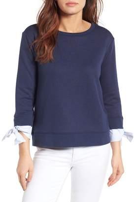 Gibson Tie Sleeve Sweatshirt