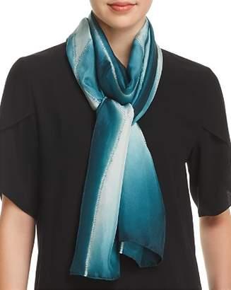 Eileen Fisher Silk Tie-Dye Scarf