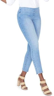 NYDJ Alina High Waist Pull-On Ankle Skinny Jeans