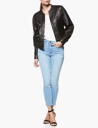 Paige Gianna Jacket - Black Leather