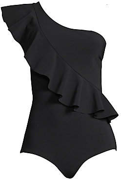 Chiara Boni Women's One-Piece Ruffle Swimsuit