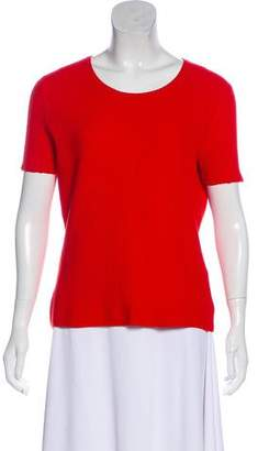 HUGO BOSS Boss by Textured Short Sleeve Top