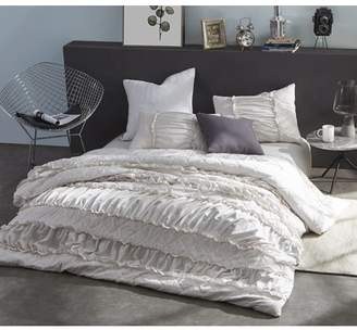 Byourbed BYB Ruffle Pleats Duvet Cover - Jet Stream