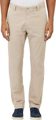 Barneys New York MEN'S TWILL CHINOS - BEIGE/TAN SIZE 30