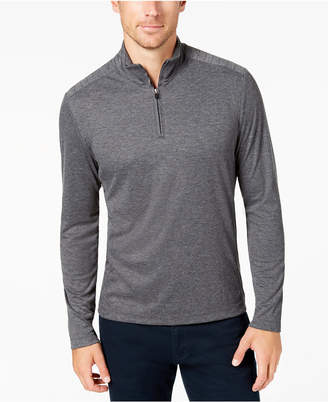 Alfani Men's Quarter-Zip Stretch Pullover, Created for Macy's