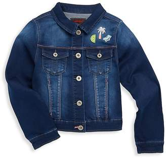 Catimini Little Girl's & Girl's Denim Jacket